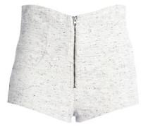 Bouclé cotton-tweed shorts