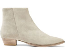 Lynae Suede Ankle Boots Neutral