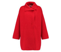 Oversized wool, cashmere and angora-blend coat