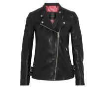 Brademore Leather Biker Jacket Black
