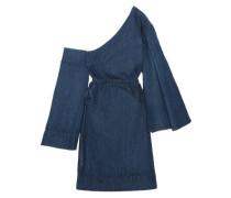 Dionne one-shoulder denim mini dress