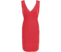 Karima Open-back Bandage Mini Dress Tomato Red