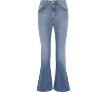 Pacifico Mid-rise Flared Jeans Mid Denim