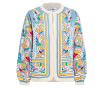 Embroidered Cotton-twill Jacket