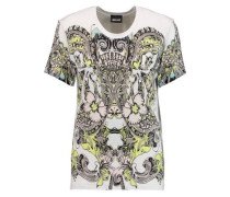 Printed Stretch-jersey T-shirt Multicolor
