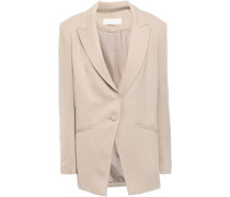 Stretch-crepe Blazer Neutral