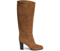 Royal Suede Boots Camel