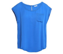 Hina Silk T-shirt Blue