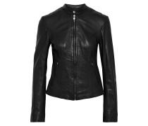 Woman Harmon Leather Jacket Black