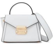 Leather Shoulder Bag White Size --