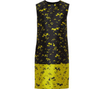 Lowry floral jacquard mini dress