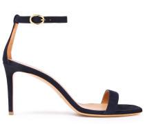 Woman Suede Sandals Midnight Blue