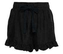 Tova Twill Shorts Black