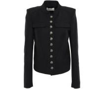 Woman Grain De Poudre Jacket Black