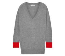 Mélange Cashmere Sweater Gray