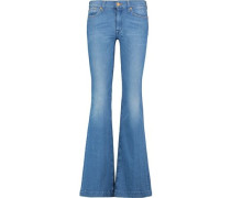 Charlize low-rise flared jeans
