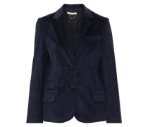 Cotton-blend Corduroy Blazer Midnight Blue