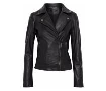 Sabik leather biker jacket