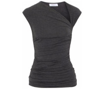 Blaze 1 ruched stretch-jersey top