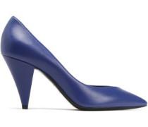 Leather Pumps Royal Blue