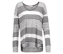 Imogen striped stretch-jersey top