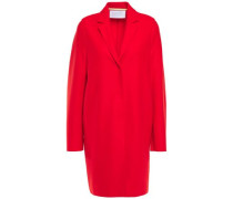 Woman Wool-felt Coat Red