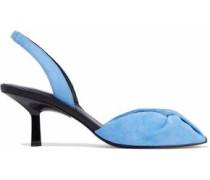 Jana suede slingback sandals