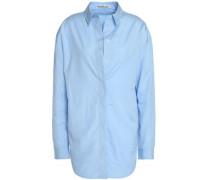 Cotton-poplin shirt dress