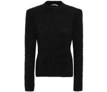Angora-blend Sweater Black