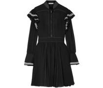 Cotton Mini Dress Black