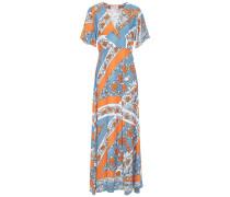 Leandra Floral-print Jacquard Maxi Dress