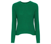 Carew Cable-knit Sweater Green