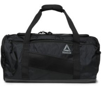 Mesh-trimmed Shell Gym Bag Black Size --