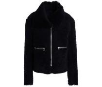Shearling Jacket Midnight Blue