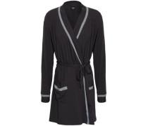 Hustle Stretch-modal Robe Charcoal