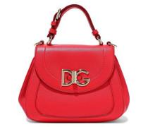 Wifi Pebbled-leather Shoulder Bag Red Size --