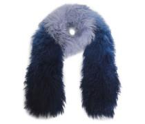 Dégradé shearling scarf