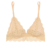 Sweet Treat Lace Soft-cup Triangle Bra Beige