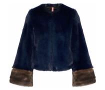Juliette two-tone faux fur jacket