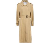 Woman Victorine Cotton-gabardine Trench Coat Sand