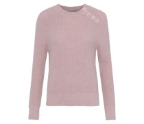 Shade Brushed Alpaca-blend Sweater Baby Pink