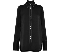 Walpole Crepe Shirt Black