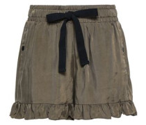 Tova Twill Shorts Army Green