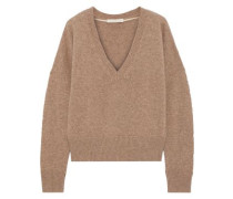 Joel Ribbed Wool And Yak-blend Sweater Taupe