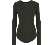 Serena ribbed wool sweater