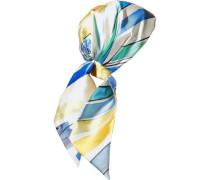 Gigi Printed Satin-twill Headscarf Multicolor Size --