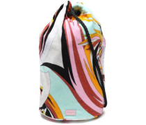 Printed Terry Beach Bag Mint Size --