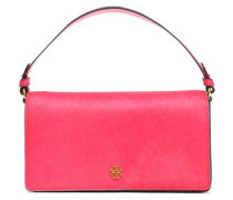 Suede And Calf Hair Shoulder Bag Fuchsia Size --
