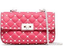 Rockstud Quilted Leather Belt Bag Pink Size --
