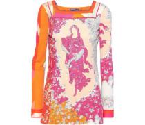 Floral-print Cady Top Multicolor